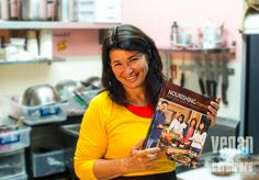 Gigi and her cookbook, www.nourishingfriends.com