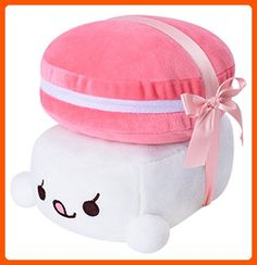 "PONML 6"" Sushi Cushion Macaron Plush Toy Bedding Cute Pillow Choba Soft Cotton - Fun stuff and gift ideas (*Amazon Partner-Link)"