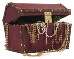 How to Make a Large Cardboard Treasure Chest                              …