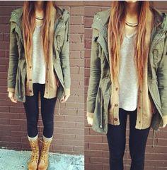 Casual winter fashion with long jackett:// Fall 2015 Outfits, Fall Fashion Outfits, Fall Winter Outfits, Sweater Fashion, Sweater Outfits, Look Fashion, Spring Fashion, Winter Shoes, Fashion Coat