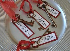 Anna's Design: Christmas Neighbor Gifts, key with poem