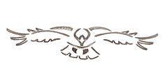 Tribal Hawk flying Tattoo Design                                                                                                                                                                                 More