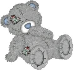 Tatty Teddy Bear Clip Art