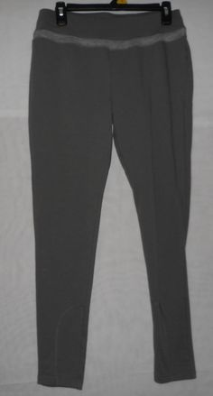 New Womens Size Medium Gray Silverwear Legging Pants  #Silverwear #Leggings