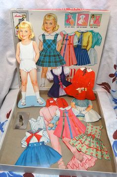 Vintage 1962 Magic Mary Magnetic Paper Doll with by CurioCabinet