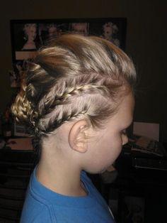Morgan's hair do!!!