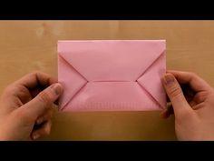 einen briefumschlag falten origami ohne schneiden oder. Black Bedroom Furniture Sets. Home Design Ideas