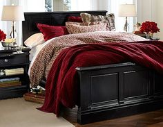 #potterybarn oh my...if this were my bedroom I might never leave!