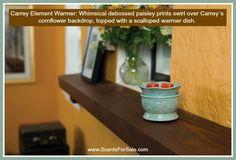 Carrey Element Wamer. Shop online: www.ScentsForSale.com $25.00