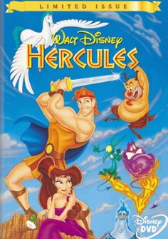 Hercules: In this Disney movie, He's Just a Big Ol' Loveable Hunk Hercules. Walt Disney Feature Animation had decided in the late Disney Films, Disney Dvd, Best Disney Movies, Great Movies, Classic Disney Movies, Disney Characters, Cartoon Movies, Hd Movies, Movies To Watch