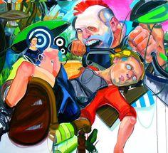 Cupula. óleo sobre tela 130 x 170 cm. 2006