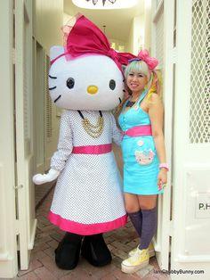 Love @IamChubbyBunny's supercute Hello Kitty style! #SephoraHelloKitty