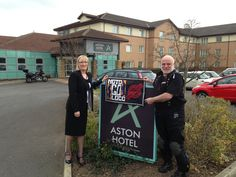 Aston Hotel, Darlington - Discovered - Visited - Endorsed by MotoGoLoco.  #bikerfriendly