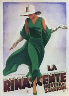 Dudovich - Dama in Verde
