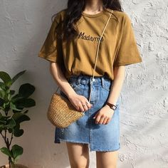Korean Fashion Trends you can Steal – Designer Fashion Tips High Street Fashion, Korean Street Fashion, Korea Fashion, Asian Fashion, Look Fashion, Girl Fashion, Fashion Outfits, Fashion Ideas, Mens Fashion