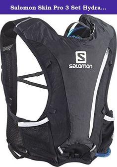 e6690c3720 Salomon Skin Pro 3 Set Hydration Pack, black. The Salomon Skin Pro 3 Set