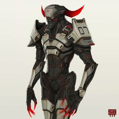The One With Horns by Serge Birault | Sci-Fi | 2D | CGSociety