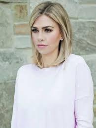 Bildergebnis für frisuren halblang glattes haar blond