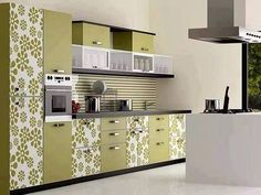 If you want to make your house more modern - start with the kitchen. Modern kitchen design is great for a complete redevelopment and the. Modern Kitchen Furniture, Modern Kitchen Cabinets, Kitchen Decor, Kitchen Ideas, Industrial Furniture, Moduler Kitchen, Smart Kitchen, Kitchen Design Open, Interior Design Kitchen