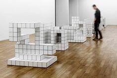 "Kristine Tillge Lund ""Acade"" (2012) Contemporary Ceramics, Contemporary Artists, Ceramic Workshop, Summer Scenes, Space Photos, Royal College Of Art, Ceramic Materials, White Tiles, Design Museum"