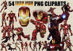 Iron Man Age of Ultron Civil War Marvel by CartoonCliparts on Etsy