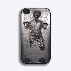 Han Solo frozen in carbonate iphone case