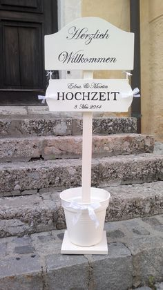 Handmade welcome stand for wedding....www.meriland.at