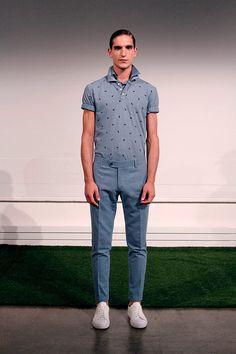 Carlos Campos coleccion primavera verano 2014 New York Fashion Week Gq, Button Down Shirt, Men Casual, Mens Tops, Shirts, Fashion, Fields, Spring Summer, Moda