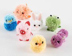 Pom Pom Animals Pattern (Crafts)