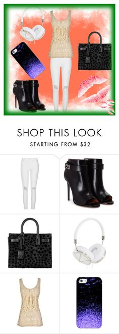 """""""Random Day #33"""" by wannabefamous212 ❤ liked on Polyvore featuring River Island, Givenchy, Yves Saint Laurent, Frends, Casetify, bored and Random"""