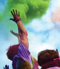 Color Me Rad is coming to a town near you with a tsunami of color that'll make colored tears of joy run down your cheeks and will renew your will to live. If you are by Fort Worth sign up to participate on 4/5/14