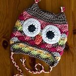 Probably the cutest owl hat I have seen so far! Crochet kids hat - Gehaakte kindermuts #crochet #haken #owl