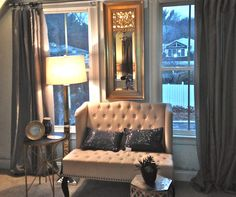 South Shore Decorating Blog: Master Bedroom Update - No More Celling fan!