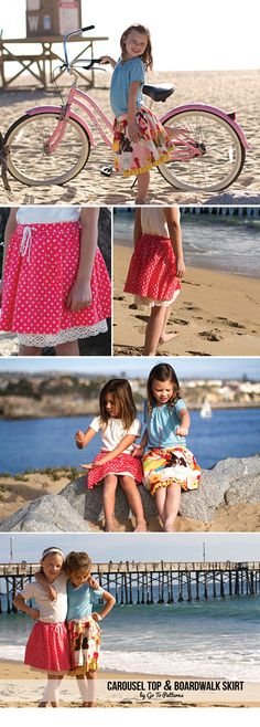 FREE skirt pattern for girls. Download today!
