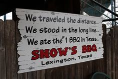 Every BBQ pit in Texas says the same thing.  With me they're all #1!