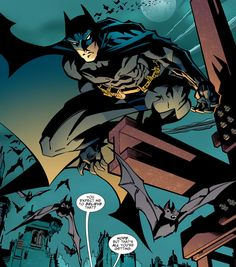 Batman in Green Arrow vol 3 #69 | Art by Scott McDaniel, Andy Owens & Guy Major
