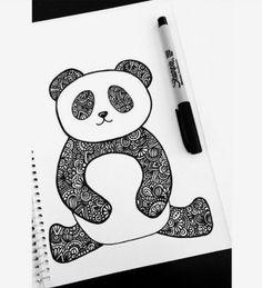 Panda Dani hoyos art