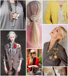 Ways to Wear a Brooch - JewelryGalBlog.com