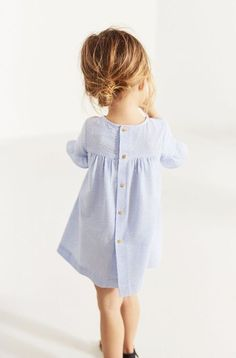 Zara Kids Striped Dress Source by ambernohea Cute Baby Girl Outfits, Toddler Outfits, Toddler Dress, Toddler Girls, Little Girl Fashion, Toddler Fashion, Fashion Kids, Babies Fashion, Vestidos Zara