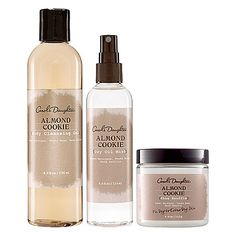 Almond joy: Carol's Daughter Almond Cookie Body Collection