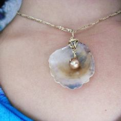Beautifull  Sea shell and Pearl Summer by oceangirlcollection, $37.00