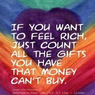 """""""If you want to feel rich…"""" ~ anon • photo: via  Captivating Candles on Flickr"""