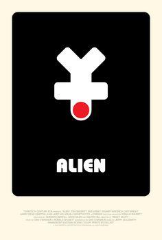 Poster for Alien by Scott Saslow. #alien #ridleyscott #sigourneyweaver #tomskerritt #johnhurt #ianholm #yaphetkotto #harrydeanstanton #veronicacartwright #70s #classicfilm #scifi #horror #monster #creature #spaceship #hrgiger #jerrygoldsmith #roncobb #movieposter #graphicdesign #posterdesign #fanart #alternativefilmposter #alternativemovieposter #photoshop