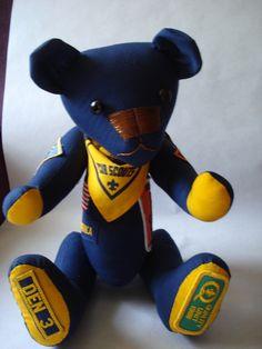 cub scout bear @bearingmemories.com
