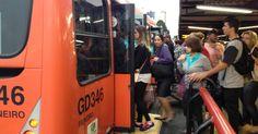 Mais da metade dos ônibus de Curitiba já voltaram a circular, diz Urbs