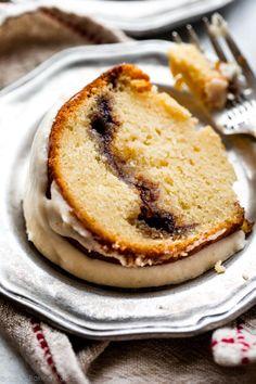 Deliciously moist, soft, and buttery chai spice cinnamon bundt cake! Recipe on sallysbakingaddiction.com