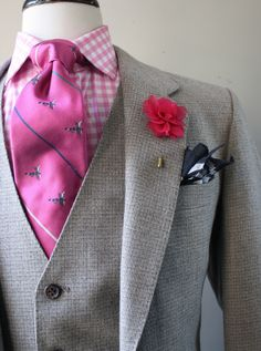 Image of 3 Piece Tweed Suit