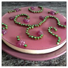 Tarta de Caramelos de Violeta