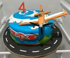 Disney Planes Cake, letadlo Prasek