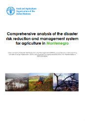 Comprehensive analysis of the disaster risk reduction and management system for agriculture in Montenegro Weather Warnings, Essential Elements, Data Collection, Montenegro, Priorities, Agriculture, No Response, Management